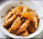 鶏肉と大根の甘酒みそ煮
