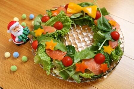 キューピー3分クッキング レシピ クリスマスリースサラダ