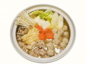 キューピー3分クッキング レシピ 鶏だんごとほうれん草のスープ