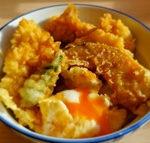 キューピー3分クッキング レシピ ゆで卵の天丼 石原洋子
