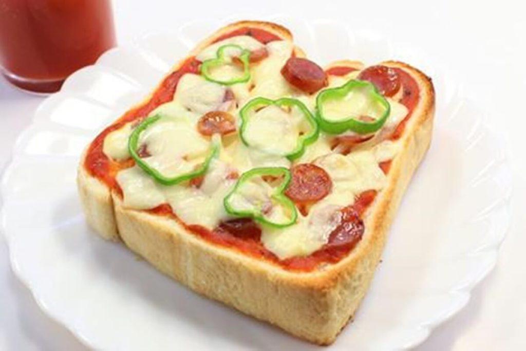 ミニトマト・ピザトースト