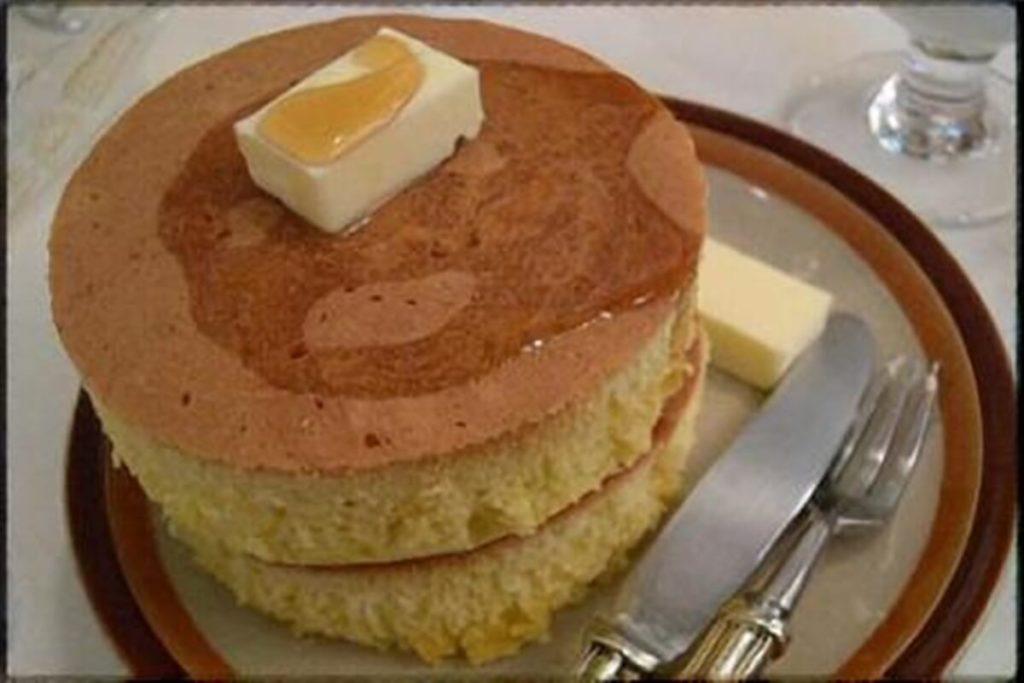 フワフワのパンケーキ