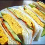 きょうの料理【大原千鶴のお助けレシピ】厚焼き卵サンドのレシピを大原千鶴先生が紹介