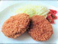小松菜のメンチカツ