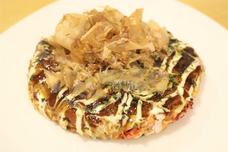 小松菜のお好み焼き