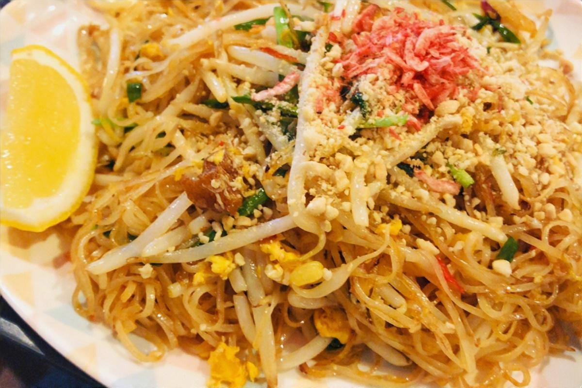 タイ風シーフード麺