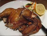 新玉ねぎと鶏もも肉のロースト