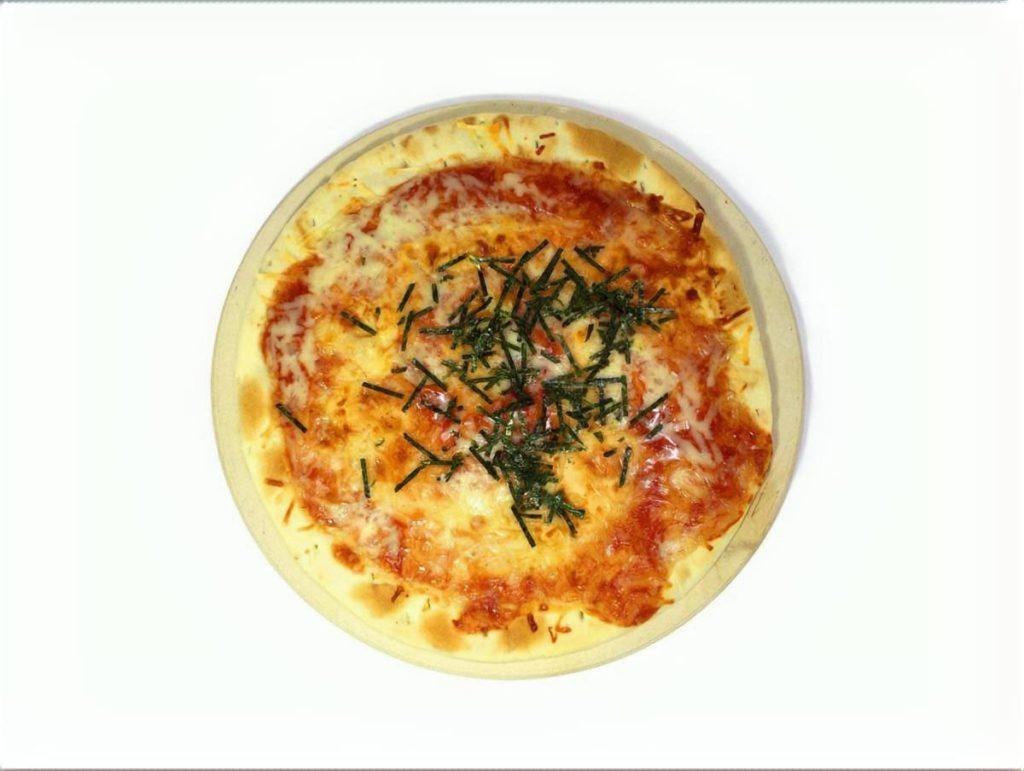 アボカドの和風ピザ