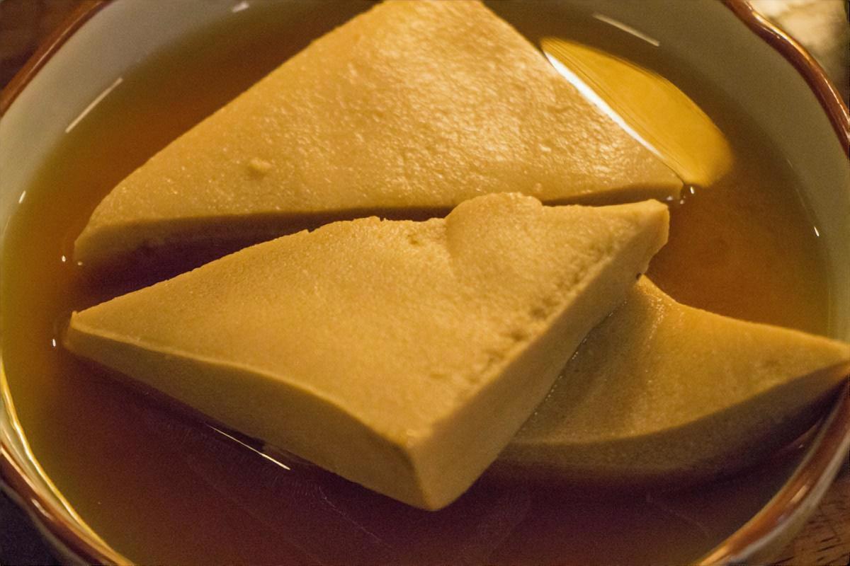 高野豆腐のチーズ煮っ転がし