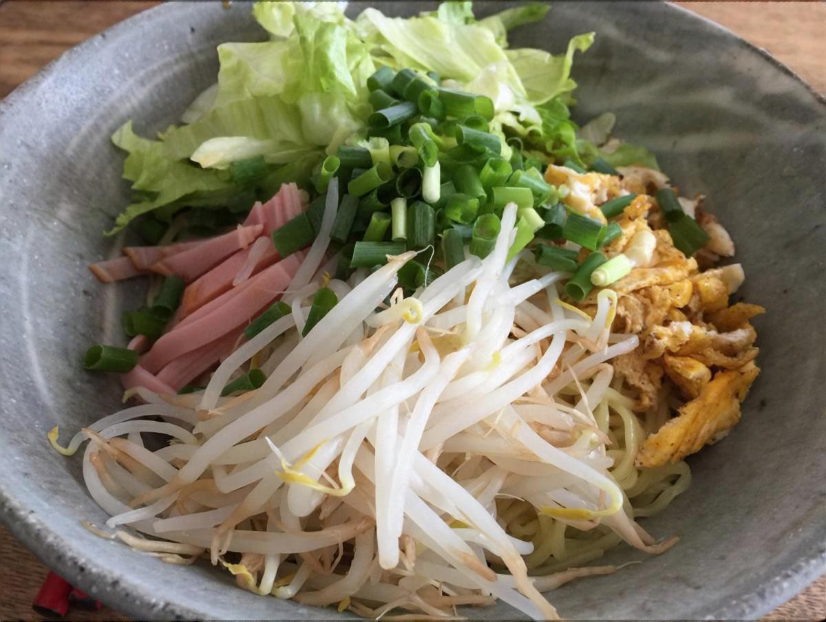 アジア風混ぜ麺