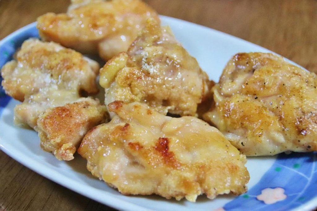 鶏むね肉のソテー レモンソース