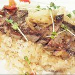 【教えてもらう前と後】同時メシ!炊飯器でステーキ飯の作り方を紹介!澁谷梨絵さんのレシピ