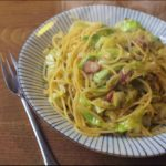【土曜はナニする】手抜き料理!ポン酢パスタの作り方を紹介!ジョーさんのレシピ