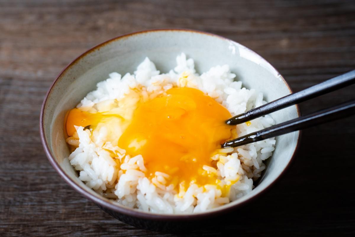 中華風卵かけごはん