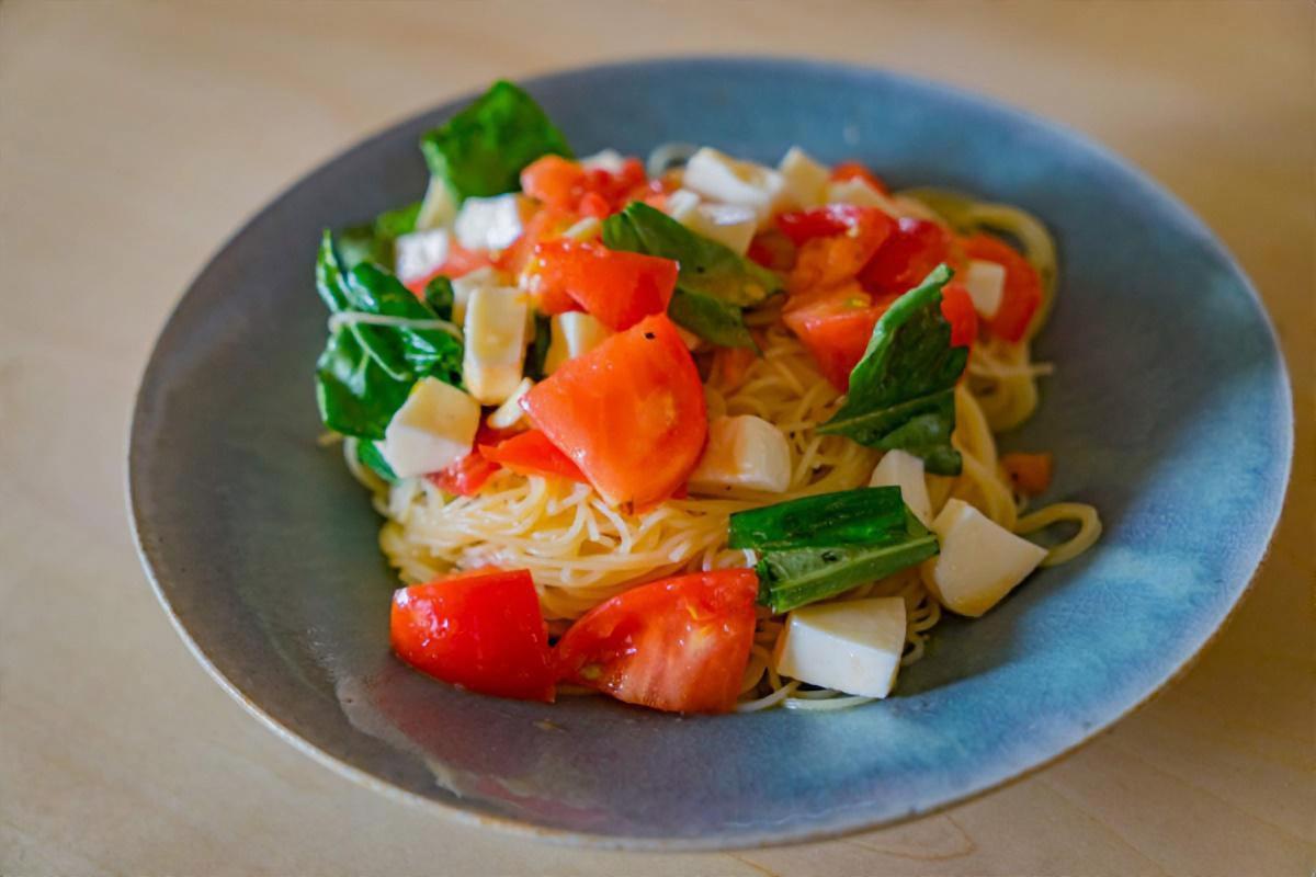 美肌野菜の冷製パスタ