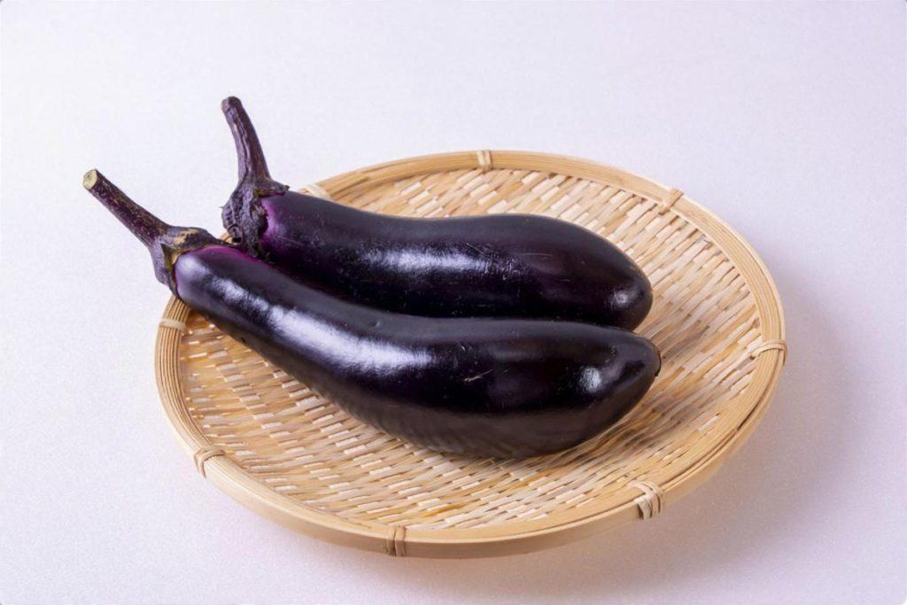 ナスと夏野菜の冷製パスタ