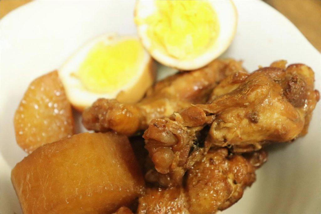 鶏手羽元と冬瓜の旨煮