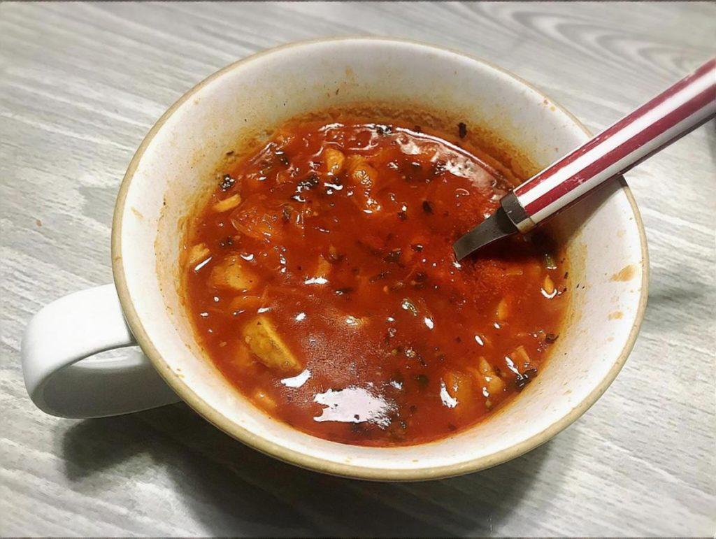 サバのトマト冷や汁