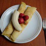 【サタプラ】ホットプレートレシピ!くるくるバナナクレープの作り方を紹介!かめ代。さんのレシピ