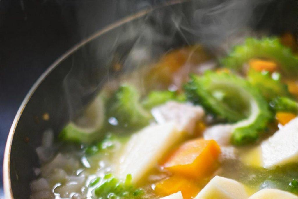 長芋としょうがのカレー煮