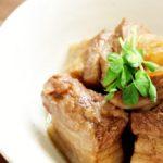 【ソレダメ】豚の角煮の作り方を紹介!あまこようこさんの電子レンジレシピ