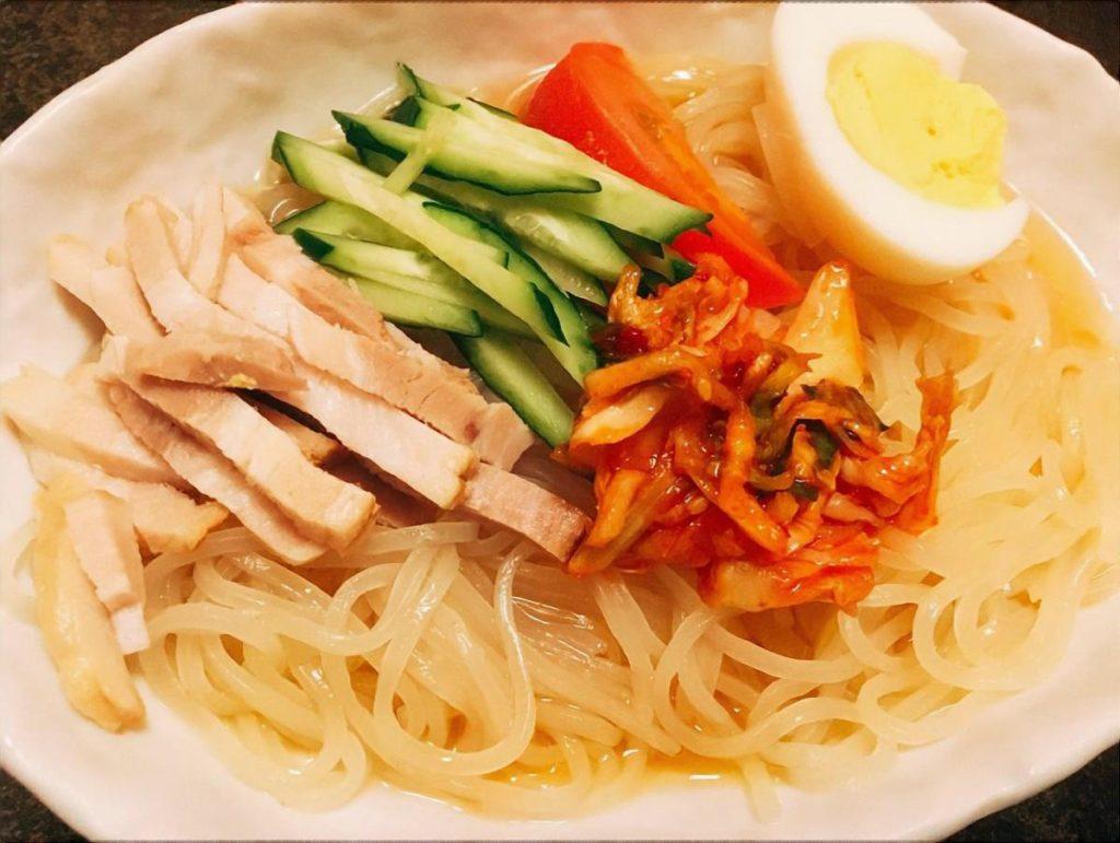 盛岡焼き冷麺
