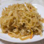 【おは朝】ゆーママレシピ冷凍おかずの素!切り干し大根とニラのオイスターソース煮の作り方を紹介!