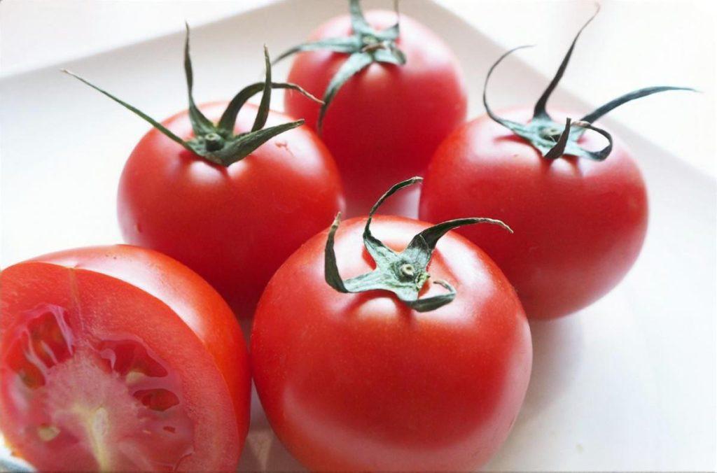 トマトと梅干しのすり流し