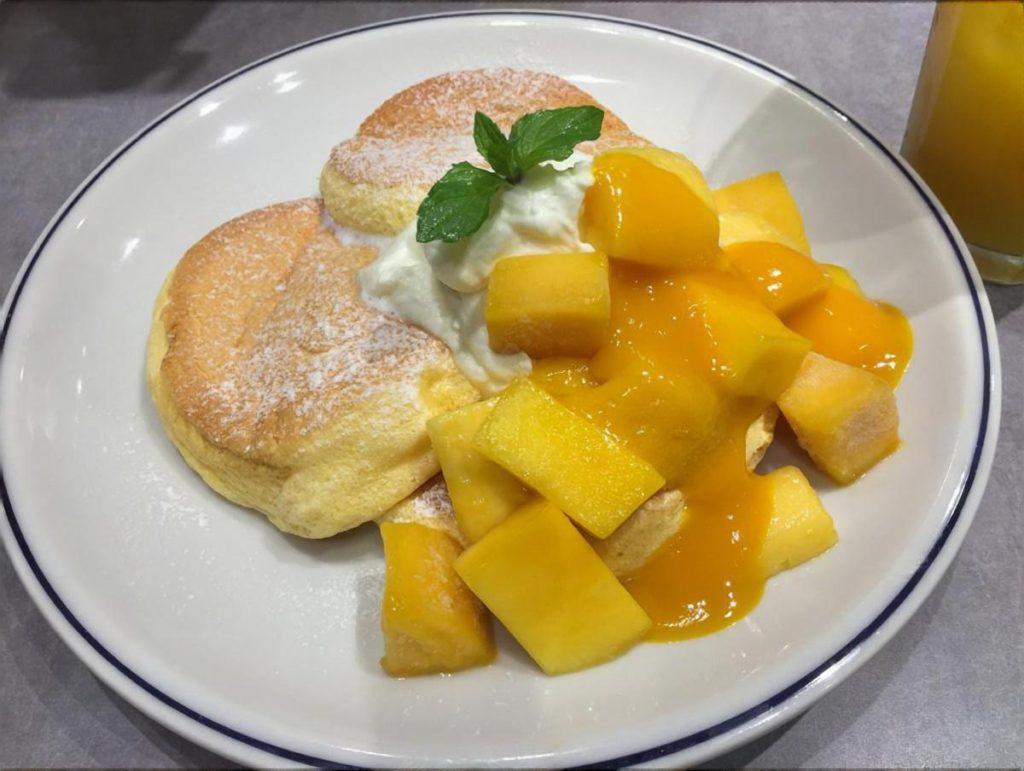 マンゴートロピカルパンケーキ