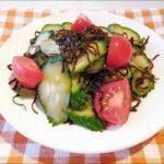 【きょうの料理】オクラとトマトの昆布酢和えの作り方を紹介!山本麗子さんのレシピ