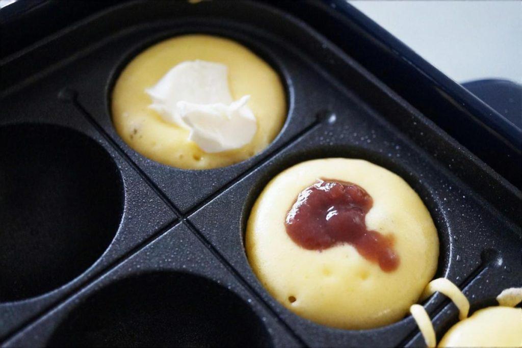 プチバナナケーキ