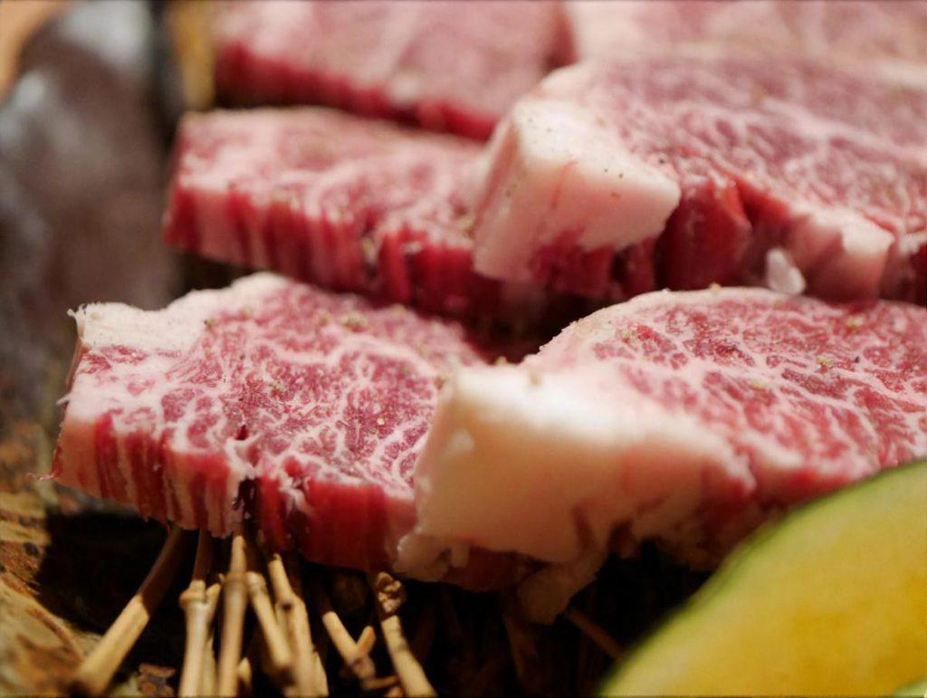 自家製だれの焼き肉
