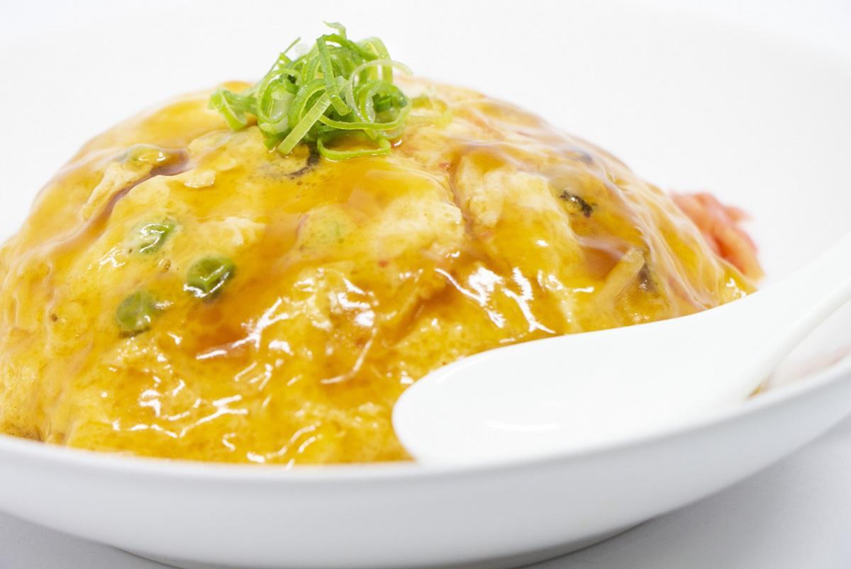 簡単焼きそば天津麺