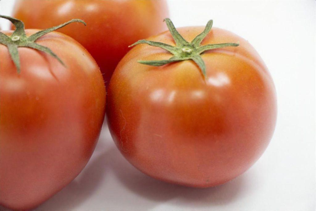 トマトの白酢かけ