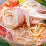 【ヒルナンデス】すりおろしトマトそうめんの作り方を紹介!コウケンテツさんのレシピ