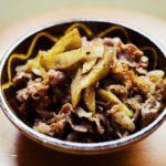 【あさイチ】牛肉とごぼうの甘辛煮の作り方を紹介!藤野嘉子さんのレシピ