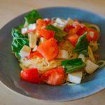 【土曜はナニする】トマトとサバ缶の冷製パスタの作り方を紹介!弓削啓太さんのレシピ