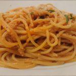 【土曜はナニする】カニみそ風カニカマパスタの作り方を紹介!弓削啓太さんのレシピ
