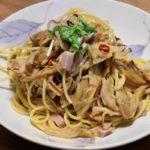 【土曜はナニする】なんちゃってポルチーニパスタの作り方を紹介!弓削啓太さんのレシピ
