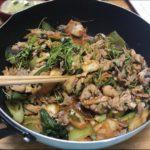 【よ~いドン】モロヘイヤ産ごちレシピ!モロヘイヤの豚キムチ炒めの作り方を紹介!