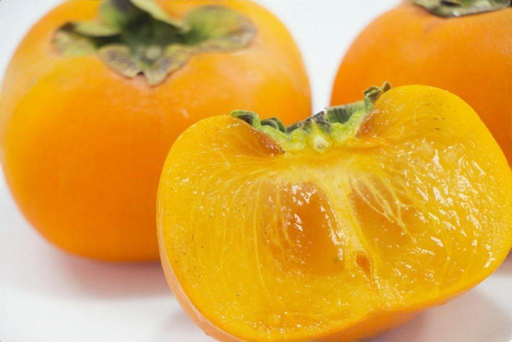 柿と大根の甘酢和え