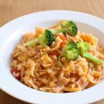 【まいにちスクスク】ブロッコリーのトマト風味リゾットの作り方を紹介!若菜まりえさんのレシピ