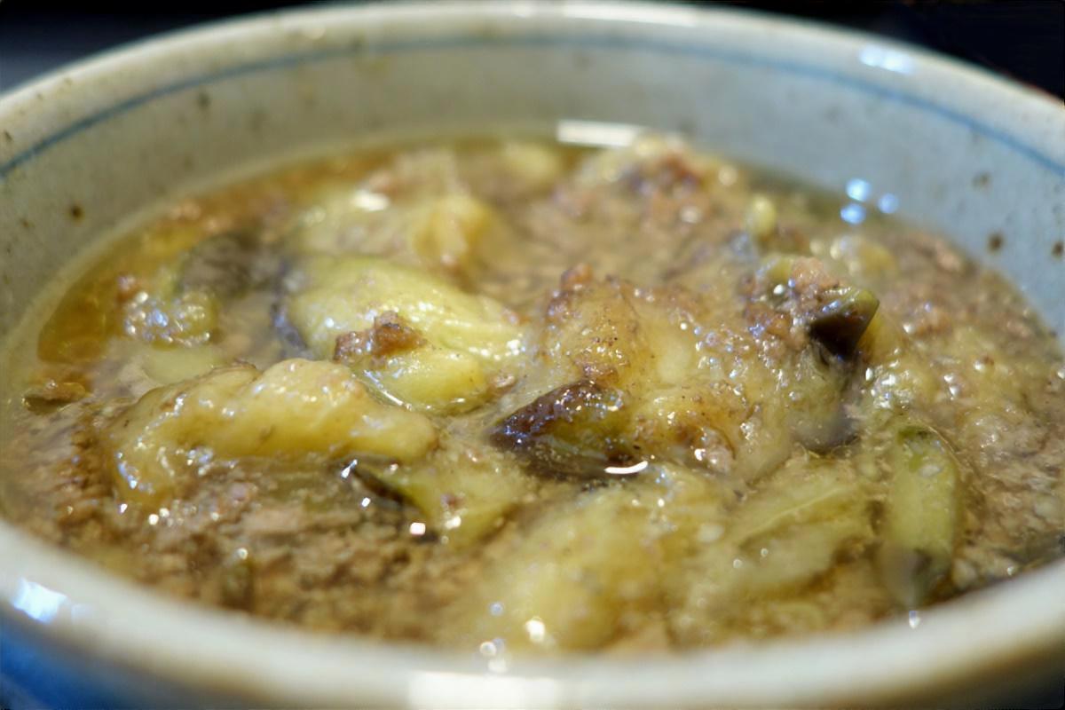 鶏肉となすのおろしぽん酢煮