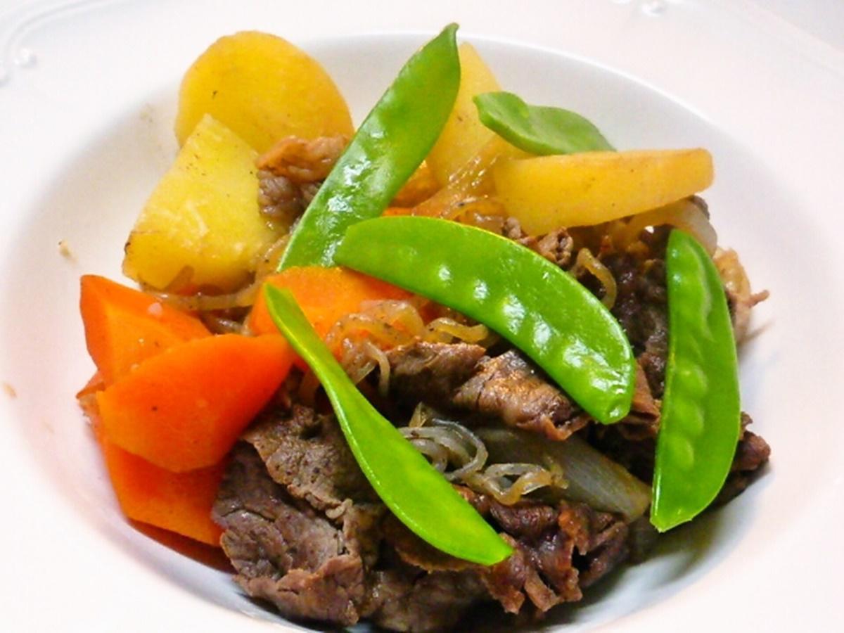 牛肉と里芋の煮もの