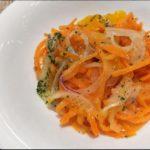 【あさイチ】にんじんごまポン酢の作り方を紹介!小林まさみさんのレシピ