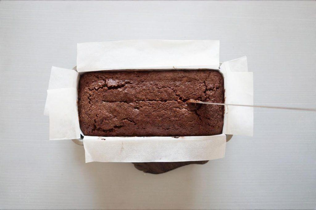 しっとりチョコパウンドケーキ