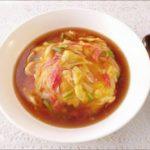 【家事ヤロウ】かに玉風あんかけ焼きそばの作り方を紹介!永谷園さんのレシピ