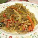 【3分クッキング】しらたきチャプチェの作り方を紹介!上島亜紀さんのレシピ