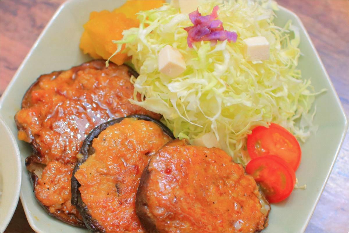 椎茸の肉詰め照り焼き