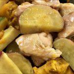 【おかずのクッキング】さつまいもと鶏もも肉の梅干し煮の作り方を紹介!浜内千波さんのレシピ